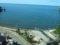 餘部探訪(252)178D(餘部15:18発)車窓-余部鉄橋から余部の集落&香住海岸