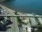 餘部探訪(253)178D(餘部15:18発)車窓-余部鉄橋から余部の集落&香住海岸