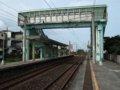 [鉄道][風景][駅]★496:宜蘭線・頂埔車站(宜蘭側から福隆側)100619