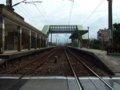 [鉄道][風景][駅]★498:宜蘭線・頂埔車站(福隆側踏切から宜蘭方面)100619