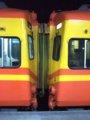 [鉄道][台鐵EMU300][貫通幌]★568:自強号2044次(蘇澳-樹林)EM301+EMC306連結面/蘇澳
