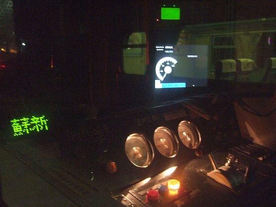 ★574:區間車2722次(蘇澳-樹林)樹林側EMC501運転台/次は蘇澳新