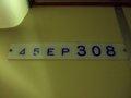 [鉄道][台鐵EMU300]★580:自強号2044次(蘇澳-樹林)EP308車内車番表示