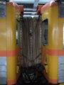 [鉄道][台鐵DMU3000][貫通幌]★589:自強号1051次(樹林-知本)3両目(DR3037)-4両目(DR3043)連結面/七堵