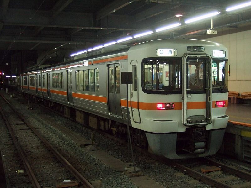☆063:JR東海313系Y37編成(Mc313-307側)飯田線567M/豊橋駅