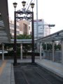 [鉄道][風景][駅]☆085:豊橋鉄道東田本線駅前駅 朝6時/20090906