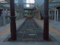 [鉄道][風景][駅]☆086:豊橋鉄道東田本線駅前駅 朝6時/20090906