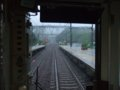 [鉄道][風景][駅][近鉄]★052:近鉄大阪線・東青山駅/普通列車最後尾(ク1544)から