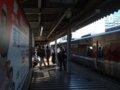 [鉄道][キハ189系]「はまかぜ」新型車両展示会(31)神戸駅1番ホーム停車中