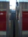 [鉄道][キハ189系][貫通幌]「はまかぜ」新型車両展示会(32)キハ189-1003+188-3連結面/神戸駅