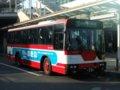 [バス]☆140:豊鉄バス三菱エアロスターM(U-MM618J)フロントビュー/豊橋駅前