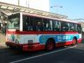[バス]☆141:豊鉄バス三菱エアロスターM(U-MM618J)リアビュー/豊橋駅前090906