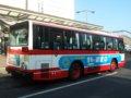 [バス]☆142:豊鉄バス三菱エアロスターM(U-MM618J)リアビュー/豊橋駅前090906