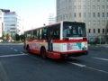 [バス]☆143:豊鉄バス三菱エアロスターM(U-MM618J)リアビュー/豊橋駅前090906