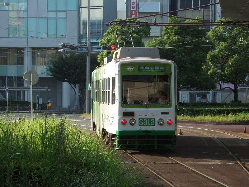 ☆149:豊橋鉄道モ3500形3501/駅前駅発車090906