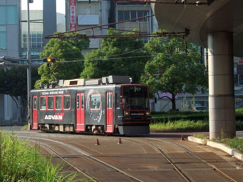 ☆153:豊橋鉄道モ780形783/駅前駅到着090906