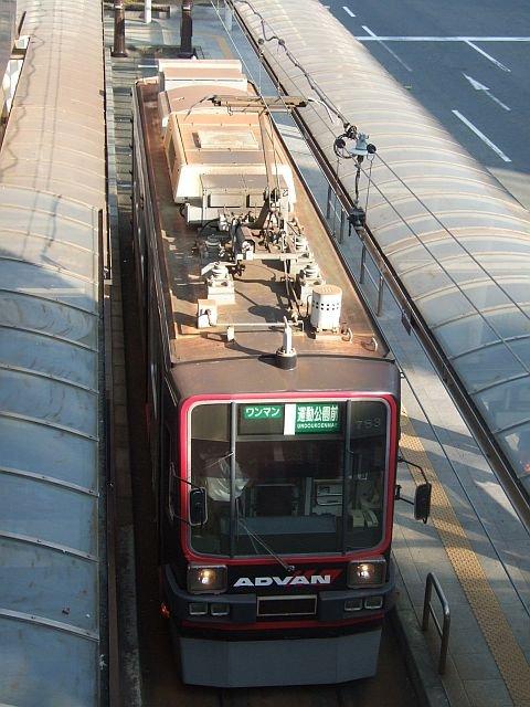 ☆159:豊橋鉄道モ780形783/駅前駅折り返し待ち090906