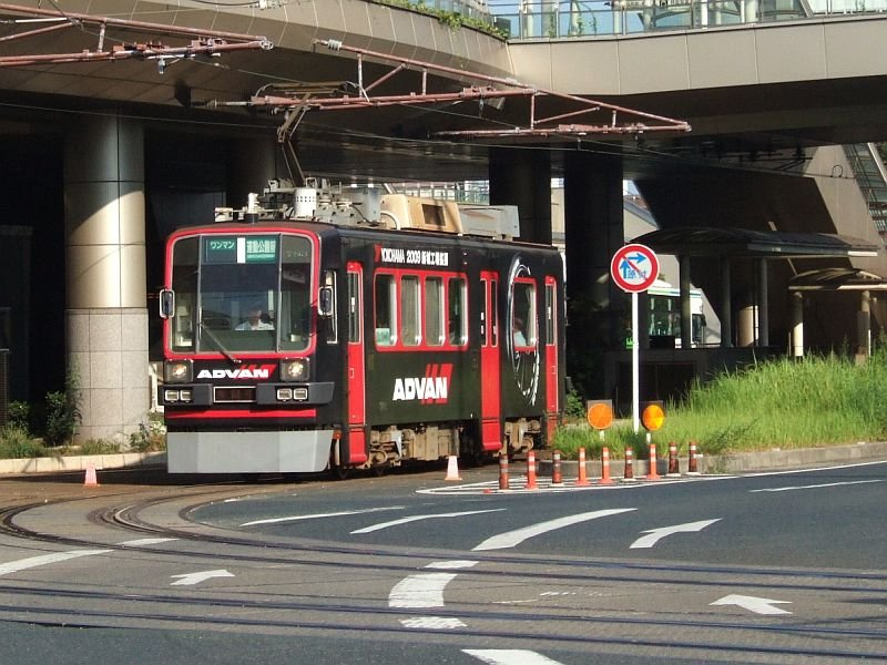 ☆161:豊橋鉄道モ780形783/駅前駅発車090906