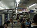 [鉄道][風景]☆191:飯田線3511M車内(Mc119-5106/下川合-中部天竜間・トンネル内)