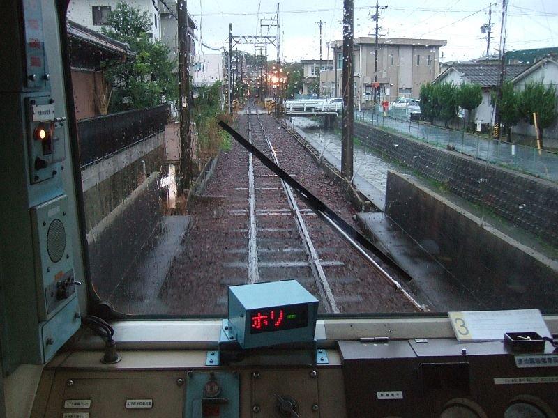 ☆075:近鉄内部線・赤堀-日永間(先頭車ク163から)20101009