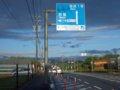 [風景]★072:サーキット道路20101010AM7:00過ぎ