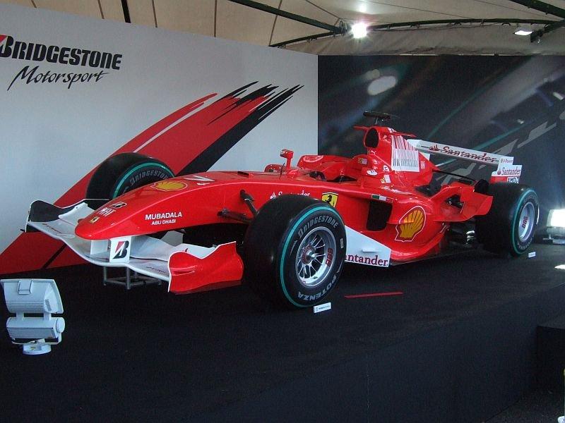 ★106:フェラーリF1展示車両(F2005・2009年カラー)
