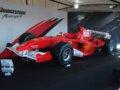 [F1][風景]★106:フェラーリF1展示車両(F2005・2009年カラー)