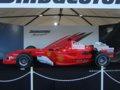 [F1][風景]★109:フェラーリF1展示車両(F2005・2009年カラー)