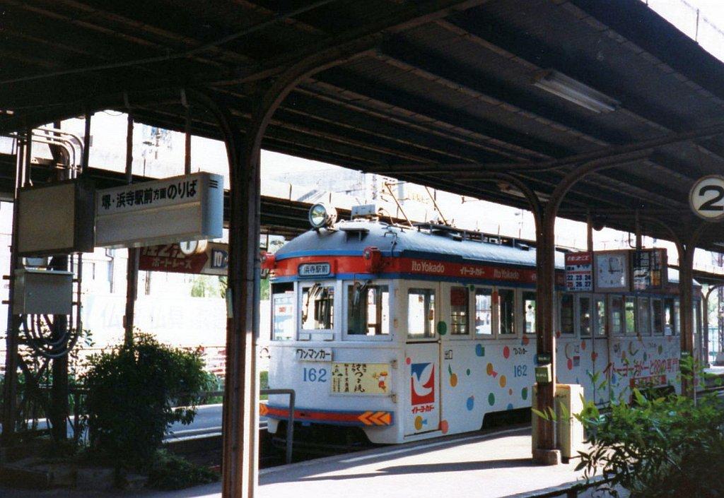 ★阪堺電気軌道 モ162 恵美須町 1987.10