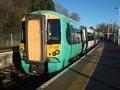 [Class377]☆026:Southern/ London Bridge行き電車 East Grinstead駅(Electrostar)