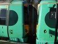[Class377]☆029:Southern/ London Bridge行き電車 East Grinstead駅(377325-377319連結面)