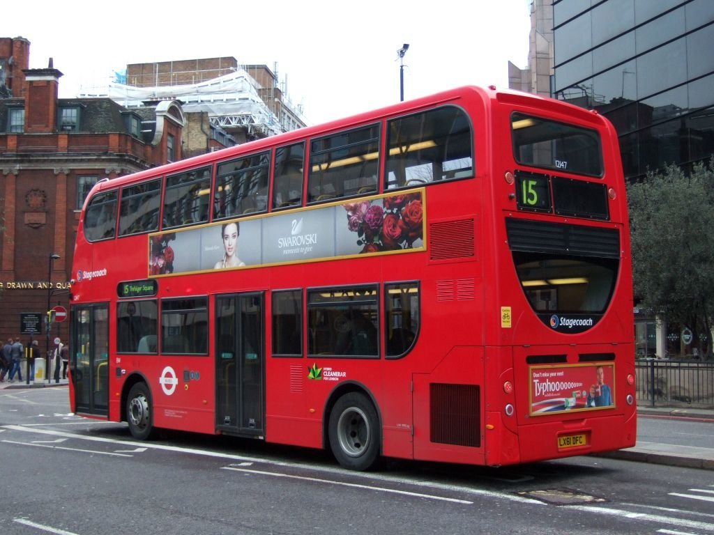 ☆057:TFL(Stagecoach)  Alexander Dennis Enviro400 Hybrid / London Bridge-Tower