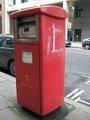 ☆059:Royal Mail ポスト(角形) / London Bridge-Tower