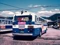 [バス]西日本JRバス 三菱ふそうK-MP118M(富士R13) <後>1989.08周山