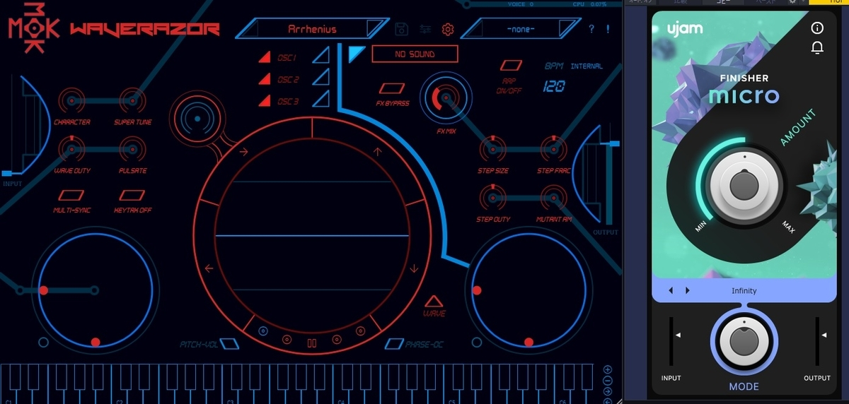 【5/10まで無料】特許出願中Waverazor LEとアノ音がすぐ作れるFinisher MICRO