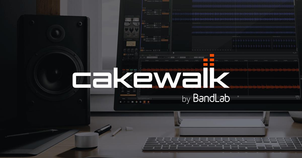 Cakewalk by BandLab (Windows版のみ)