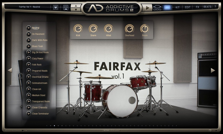 Addictive Drums 2 Demo版