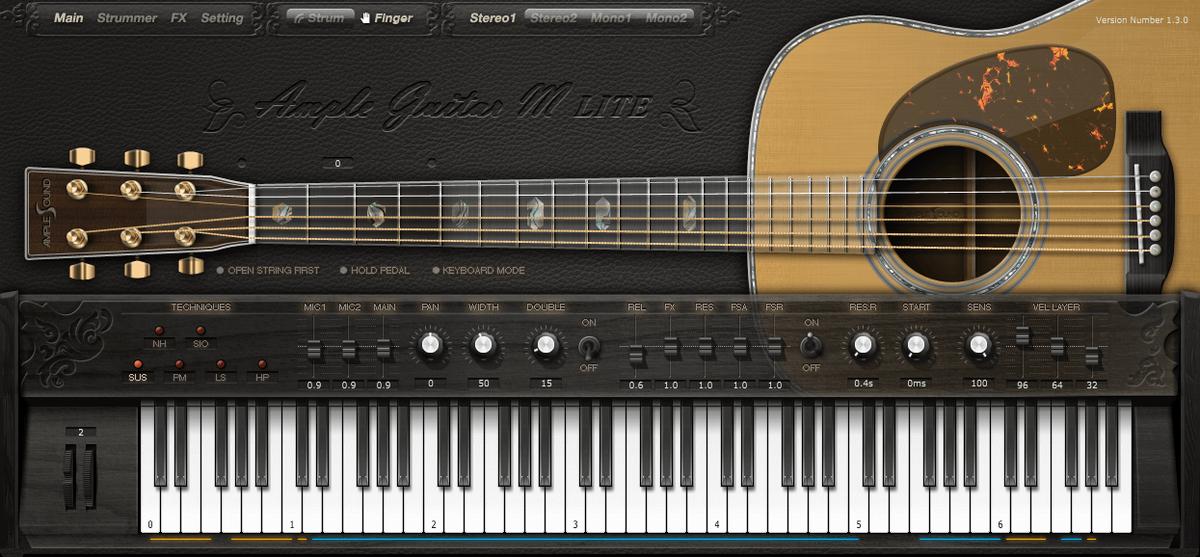 Ample Guitar M Lite Ⅱ