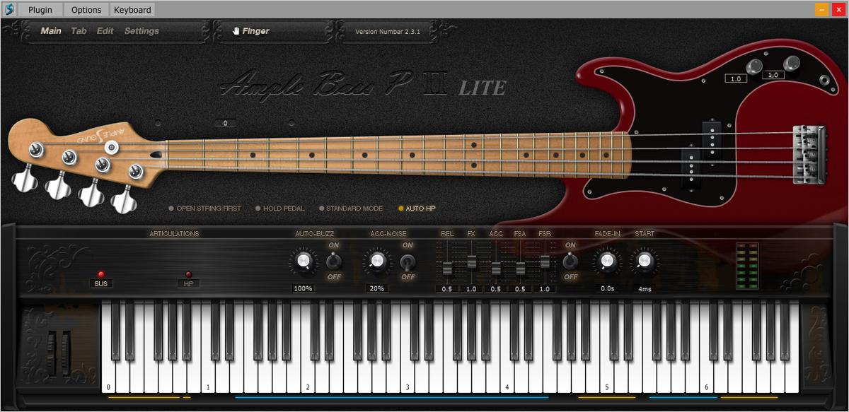 Ample Bass P Lite Ⅱ