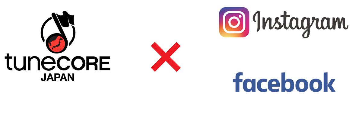 TuneCoreでFacebook、Instagramにも配信が可能になったのでご紹介