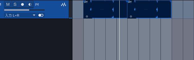 最初に元となるオーディオ(またはソフトウェア音源)を用意します。