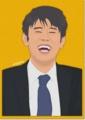 [似顔絵][IllustStudio]原田 泰造