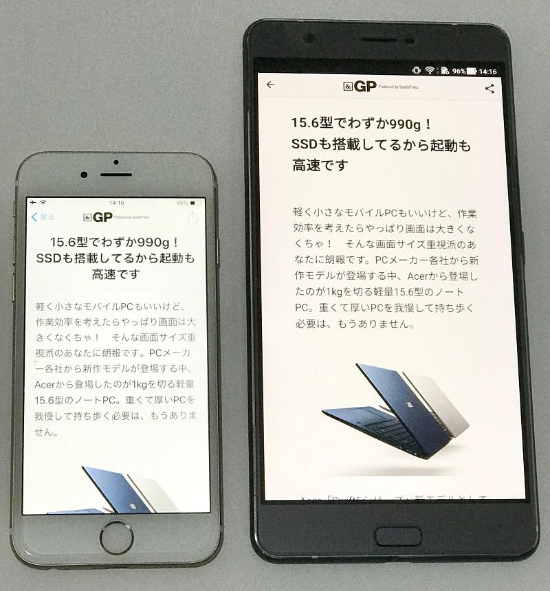 Zenfone3Ultra_iPhone6_size