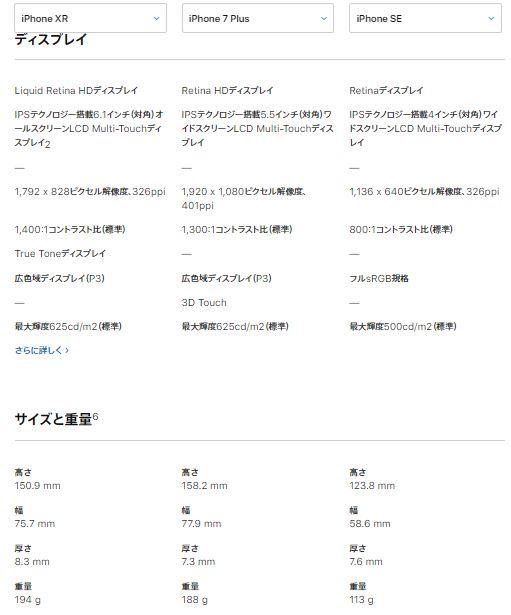 iPhoneXR_7Plus_SE_spec2