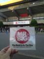 武道館 MR.BIG 物販1時間行列でした。