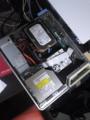 PCのCDがブーンってうるさい。ザーって雑音もするので蓋を開けてみた