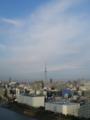 急速に天気回復@東京 青空っていいな。