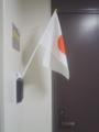 ささやかにマンション用の国旗掲揚