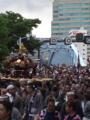富岡八幡例大祭 深川八幡祭で永代橋
