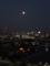 腹膜炎で最悪けど東の空は満月綺麗